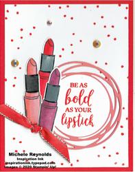 Dressed to impress bold lipsticks watermark