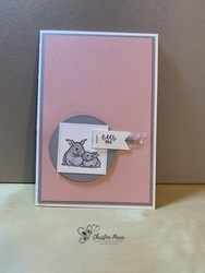 Wildly happy   baby girl full card