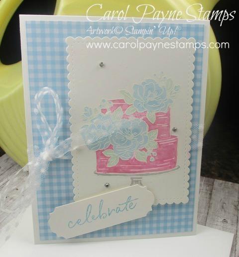 Stampin up happy birthday to you carolpaynestamps1