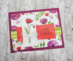 Paintedpoppies happybirthday peacefulpoppiesdsp stampinup loriskinner thiscraftersdream