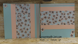 Scrapbook parisian blossoms