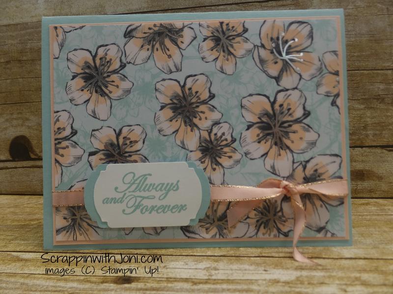 Parisian blossoms flower card