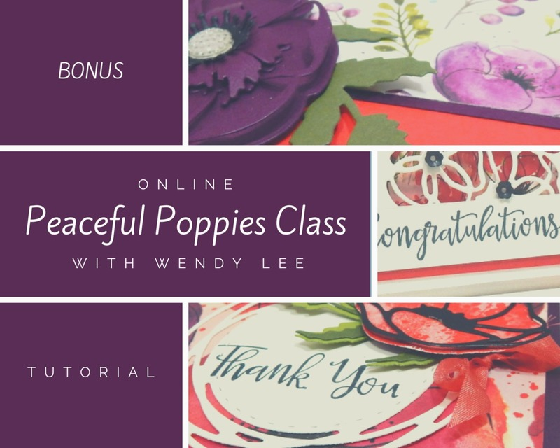 Peaceful poppies class bonus