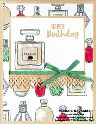 Dressed to impress perfume birthday watermark