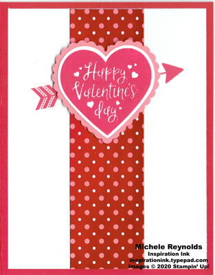 Heartfelt simple valentine watermark