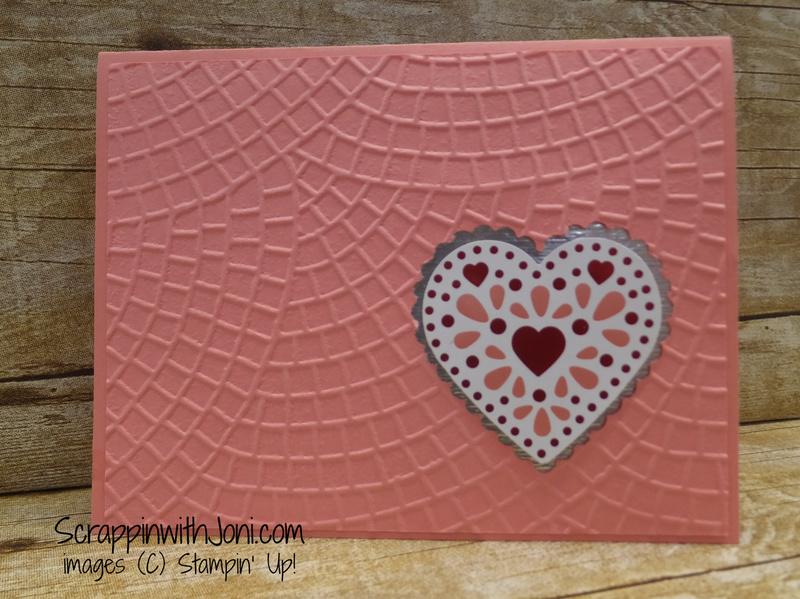 Flirty flamingo heart