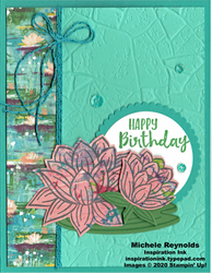 Lovely lily pad birthday lilies swap watermark