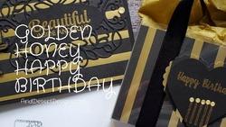 Golden honey happy birthday youtube