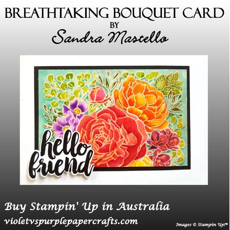 Breathtaking bouquet card one