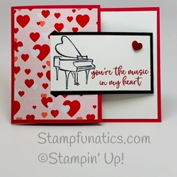 Music from my heart card