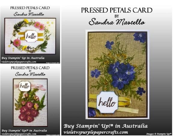 Pressed petal gallery