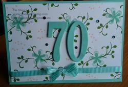 70th card