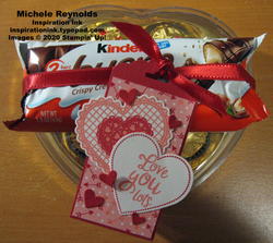 Heartfelt love you lots tag