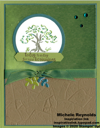 Power of hope new beginnings tree watermark