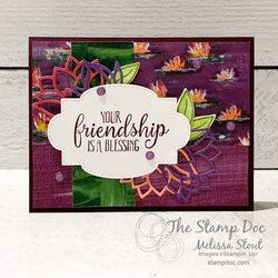 Lilypadfriendshipcard