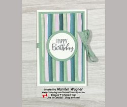 Birthday gift card holder 1