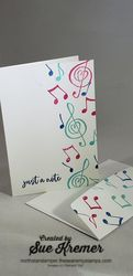 Music notecard