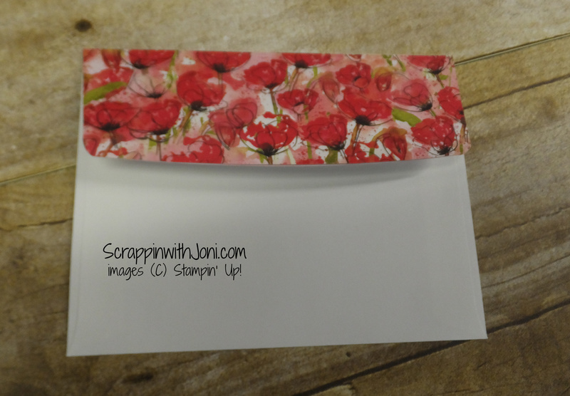 Covered envelope flap