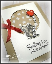 Stampin up special someone tina zinck