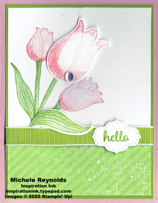 Timeless tulips pink tulip hello watermark