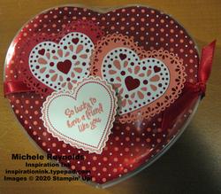 Heartfelt heart box