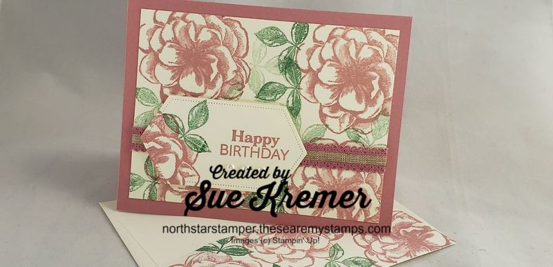 Pp stamps floral