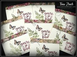 Notes of kindness stampin up tina zinck