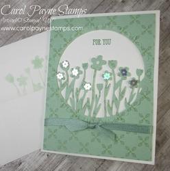 Stampin up sending flowers carolpaynestamps1