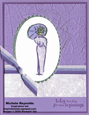 Power of hope purple floral kimono watermark