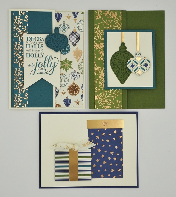 September 2019   brightly gleaming suite   3 cards