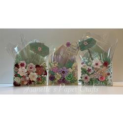 Floral card box