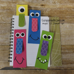 Bookmarks with a nose