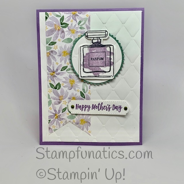 Mother s day card with dressed to imparess