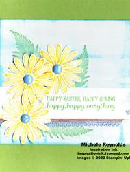 Daisy lane streaked easter daisies watermark