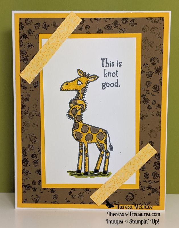Giraffe old olive wm