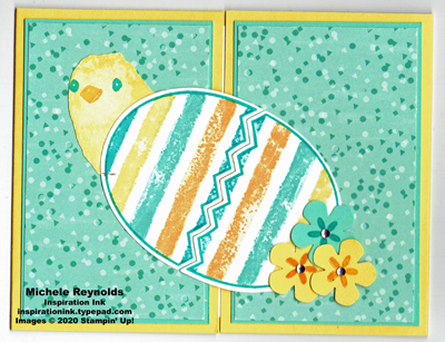 Full of happiness striped egg chick closed watermark