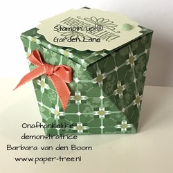 stampinup faceted box  5