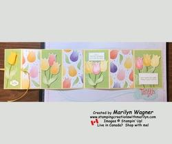 Fancy fold easter card 10