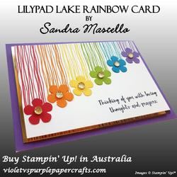 Lilypad lake rainbow card 02