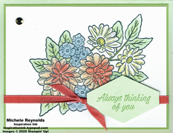 Ornate style thinking of you bouquet watermark