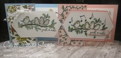 Stampin up free as a bird zfold carolpaynestamps1
