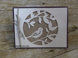 Bird detailed laser cut