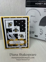 Bee stamp 002