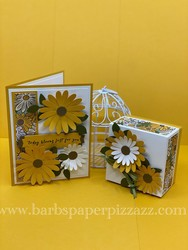 Facebook live april 13  2020 daisy gift box and matching birthday card
