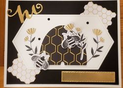 Blackbees card class in the mail