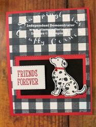Friends furever card
