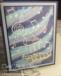 Stampin up music from the heart carolpaynestamps2