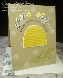 Stampin up honey bee carolpaynestamps7