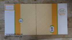 Melody mango covid scrapbook layout