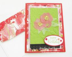 Poppy chalenge card w